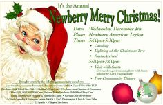 Newberry Merry Christmas event where for the past several years we have fed 250-300 people :)