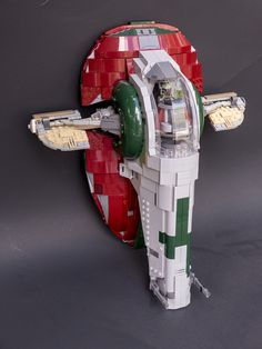 This is an OLD creation that I never got around to posting...until now!  My take on Slave 1. More of a custom than a mod, though the base is mostly similar to the set.
