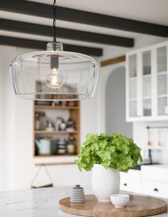 1 light pendant with Nordic Grey finish and clear glass. One Light Pendant in Nordic Grey finish Custom Lighting, Cool Lighting, Lighting Design, Coastal Lighting, Glass Pendant Light, Glass Pendants, Pendant Lighting, Hamptons Style Homes, The Hamptons