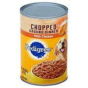 Pedigree Chopped Ground Dinner With Chicken Wet Dog Food Dog