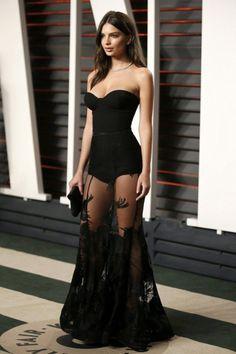 Emily Ratajkowski wearing  Steven Khalil Couture Gown
