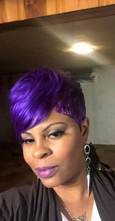 Hair Bob Purple Beauty 32 New Ideas Short Quick Weave Styles, Short Quick Weave Hairstyles, 27 Piece Hairstyles, Short Pixie Haircuts, Cute Hairstyles For Short Hair, Bob Hairstyles, Trendy Hair, Short Styles, Woman Hairstyles