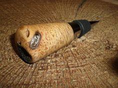 Oak Bottle Stopper #T14-12009 on Etsy, $22.00
