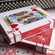King of Hearts Journal Sketchbook Album by somavenus on Etsy, $28.00: