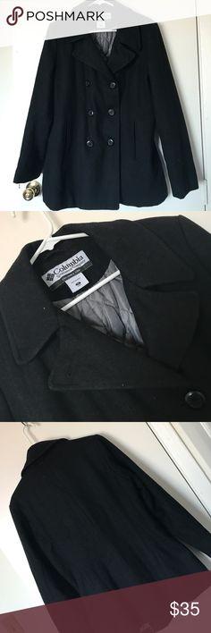 *Columbia* black peacoat *Columbia* black peacoat Columbia Jackets & Coats Pea Coats