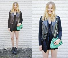 ALL BLACK WITH A TWIST  BY FRIDA J., 19 YEAR OLD STUDENT AND BLOGGER FROM KUNGÄLV, SWEDEN>> I love you Frida!