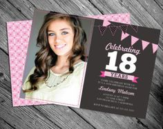 Download now 18th birthday invitation ideas free printable 18th birthday invitation stopboris Choice Image