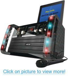 Akai KS-213 CD+G Karaoke Player with iPad Cradle #Akai #KS_213 #CD+G #Karaoke #Player #iPad #Cradle