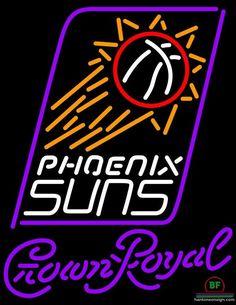Crown Royal Phoenix Suns Neon Sign NBA Teams Neon Light
