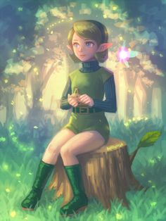 Saria by bellhenge.deviantart.com on @DeviantArt
