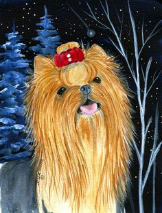 St. Patricku0027s Day Shamrock Yorkie / Yorkshire Terrier Mouse Pad, Hot Pad Or  Trivet KJ1198MP | Yorkshire Terrier, Yorkshire And Terrier