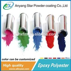 thermosetting resin epoxy resin and plastic material epoxy & polyester powder paint