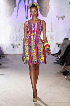 Towani Clarke showcase at Swahili Fashion Week 2011