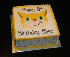 Minecraft Mr. Stampy Cat Cake