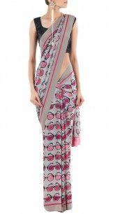 Sunglass Print Sari