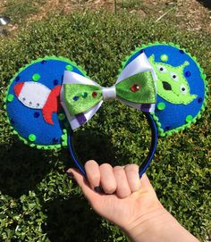 Toy Story inspired Mickey ears by ThreeLittleTinkers on Etsy