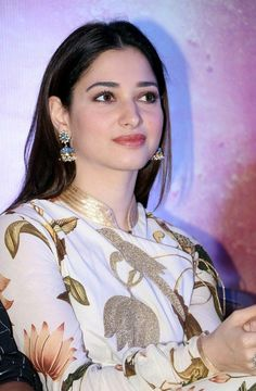 """Tamannaah Bhatia Looks Drop-dead Gorgeous At Film """"Baahubali The Conclusion"""" Press Meet in Chennai Beautiful Bollywood Actress, Most Beautiful Indian Actress, Beautiful Actresses, Most Beautiful Faces, Beautiful Lips, Dead Gorgeous, South Actress, South Indian Actress, Indian Celebrities"""