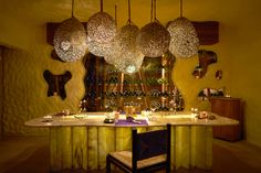 Dining by the Cellar with romantic set up, ideally for couples or honeymooners