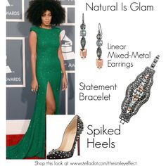"""Natural Is Glam"" by thesmileyeffect on Polyvore"
