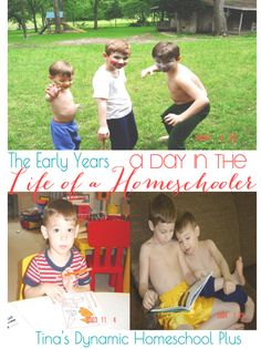 The Early Homeschool Years. A Day In the Life Of A Homeschooler Part 1 | Tina's Dynamic Homeschool Plus