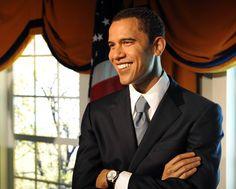 Barack Obama - Madame Tussauds Wax Museum  - Washington, DC