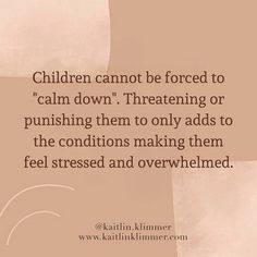 Responsive Parenting Educator (@kaitlin.klimmer) • Instagram photos and videos Calm Down, Tired, Crying, Parenting, How To Get, Education, Dinner, Feelings, Videos