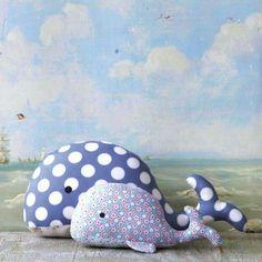 Tilda's Toy Box Plush Whale Kit