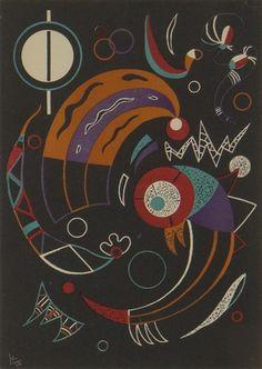 Wassily Kandinsky - Comets, 1938