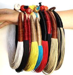 Los nuevos collares hechos a mano que nos han llegado para este verano #alhajas #complementos #artesania http://laibajan.es/es/creaciones-laibajan/162-collar-cuerda-.html