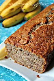 Banana Bread, Diet Recipes, Food, Diets, Healthy Diet Recipes, Essen, Yemek, Meals
