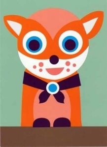 Iron on fox