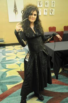 Bellatrix Lestrange by ClairWear on Etsy https://www.etsy.com/listing/238146814/bellatrix-lestrange