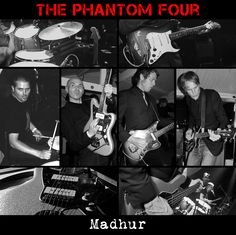 "The Phantom Four - Madhur / Morgana (2x12"", 2013)"