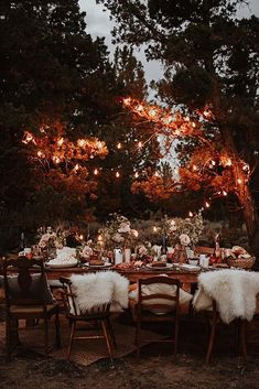A bohemian Bend, Oregon elopement. Macrame ceremony backdrop and an eclectic tablescape. Photo by Oregon wedding photographer, Dawn Photo. Design and styling by Mae&Co Creative, Portland wedding planner. Lodge Wedding, Forest Wedding, Fall Wedding, Rustic Wedding, Wedding Reception, October Wedding, Tent Wedding, Woodland Wedding, Wedding Bells