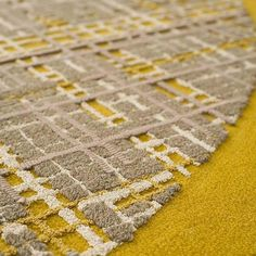André Fu collection at the Upper House Hong Kong Weft I, hand-tufted rug, made of wool, silk and cotton lacet http://www.houseoftaiping.com #AndréFu #UpperHouse #Rug #Carpet #Design #Yellow #RugsCreatedByUs #TaiPing #houseoftaiping