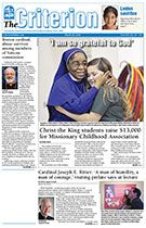 See the headlines in the March 28, 2014 issue of The Criterion.