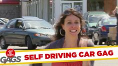 Car Drives Itself - Funny Video Dose Funny Gags, Self Driving, Throwback Thursday, Laughing So Hard, Make Me Happy, Lol, Humor, People, Cheer