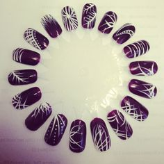 Flick nail art by Beth @ Beauty at Obsessions Ramsgate x