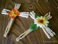 Photography and Faith: Clothespin Crosses