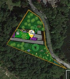 """Bear Haven in Sussex, New Jersey, is certainly a """"haven"""" for many. Their YardMap has brush and rock piles, bird feeders, logs and shrubs that make for great habitats for birds.  If I was a bird migrating through, Bear Haven would be on my list of places to land and take a rest! To see more:http://app.yardmap.org/map/L1625221"""