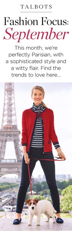 Channel your inner Parisian with our stylish new pieces. And putting them together? Well, see for yourself…