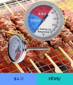 BBQ Tools & Accessories Home & Garden #ebay Bbq Accessories, Stainless Steel Bbq, Bbq Tools, Grilled Meat, No Cook Meals, Kitchen Tools, Barbecue, Grilling, Cooking Food