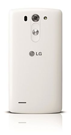 "LG G3 s - Smartphone libre Android (pantalla 5"", cámara 8 Mp, 8 GB, Quad-Core 1.2 GHz, 1024 MB RAM), color blanco (importado)"