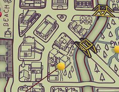 """Check out new work on my @Behance portfolio: """"Game Map"""" http://be.net/gallery/58755727/Game-Map"""