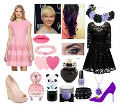 """""""Rose & Juleka Miraculous Ladybug"""" by foojtan on Polyvore featuring moda, Blume, Jessica Simpson, Chi Chi, Pixie, Aéropostale, OPI, Laura Mercier, Palm Beach Jewelry i Valentino"""