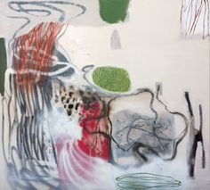 Emma Walker New Works 2009 at © Tim Olsen Gallery Sydney Australia ~ 11 - 30 August John Mcdonald, Contemporary Landscape, Landscape Paintings, Landscapes, Geography, Quilt Patterns, Abstract Art, My Arts, Creative