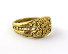 A Roman Gold Ring, ca 1st century BC/AD