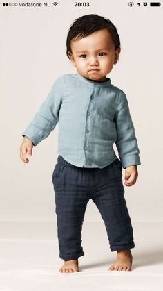 c85fea0e8f5e July 2016 - baby exclusive collection H M - baby boy - linnen outfit