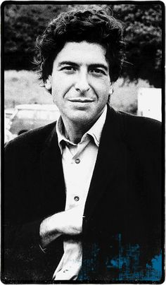 Leonard Cohen (born 21 September 1934-) is a Canadian singer-songwriter, musician, poet, and novelist.
