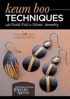 Add Artistic Flair to Your Jewelry Designs with Pure Gold and Keum Boo - Jewelry Making Daily - Interweave